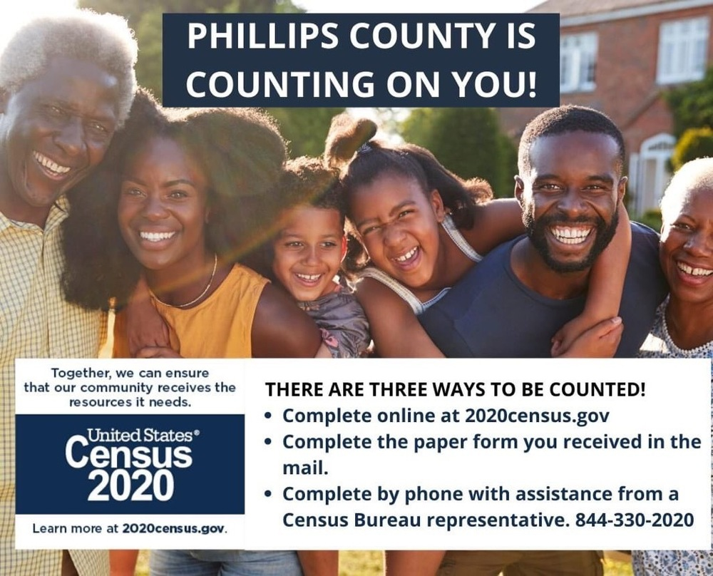 Phillips County is Counting on You!
